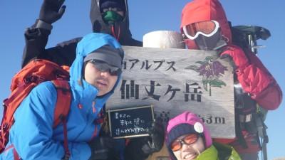 20131229~31仙丈ケ岳ー9